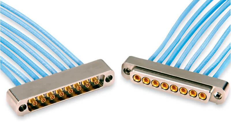 tipos y modelos de conectores hypertac industriales
