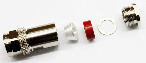 conector industrial coaxial N