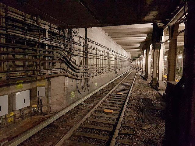 Electricidad en el metro
